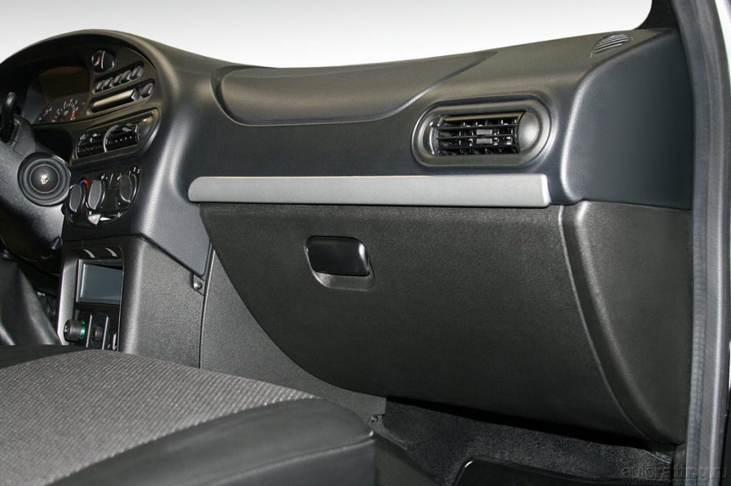 Интерьер Chevrolet Niva.