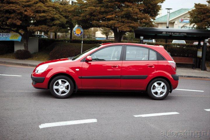 Автомобиль Kia Rio 1.3 i (75 Hp) - описание, фото, технические.