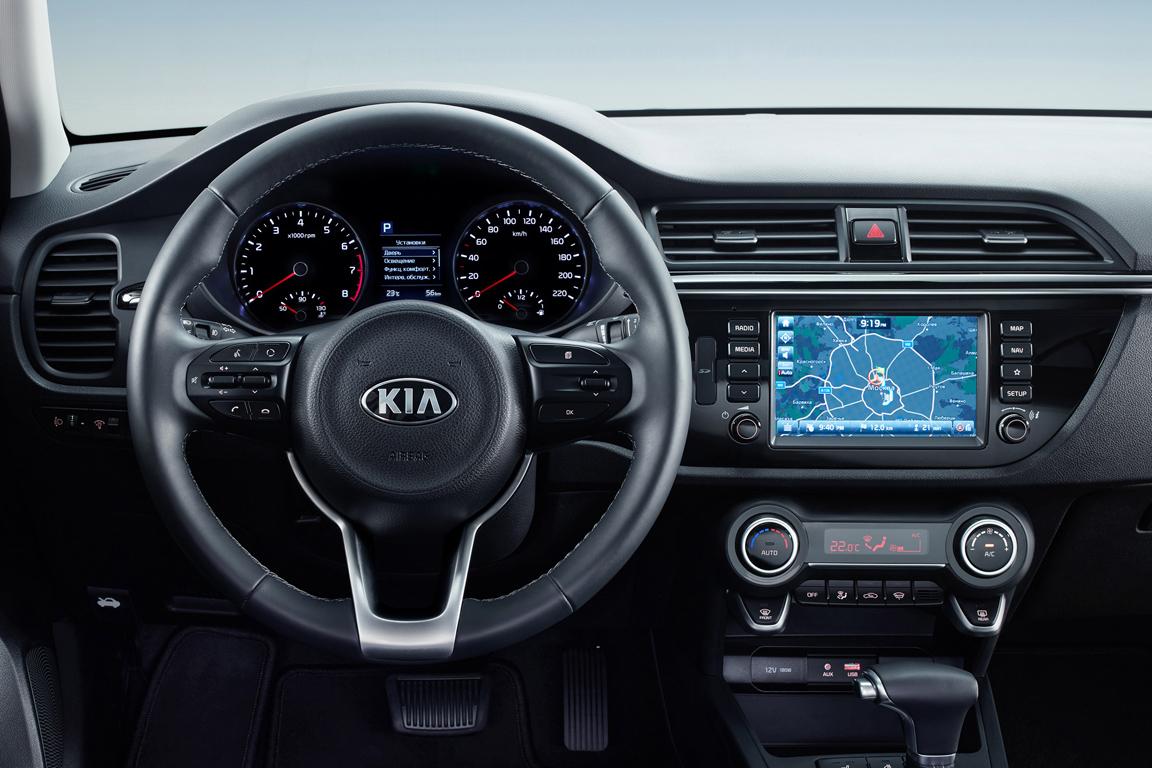 Киа  Rio стала лидером русского  рынка авто по результатам  сентября