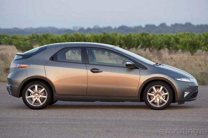 "Honda Civic 2006: гражданский  ""Стелс "" ."